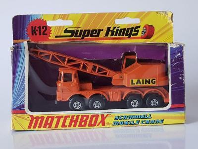 MatchBox Super Kings K-12 SCAMMELL LAING MOBILE CRANE
