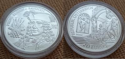 2002 --- Vojevůdce EVŽEN SAVOJSKÝ --- Období baroka