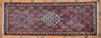 Perský běhoun Bidjar. Top kvalita. 213 X 75 cm