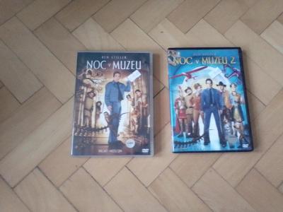 2 DVD  Noc v Muzeu