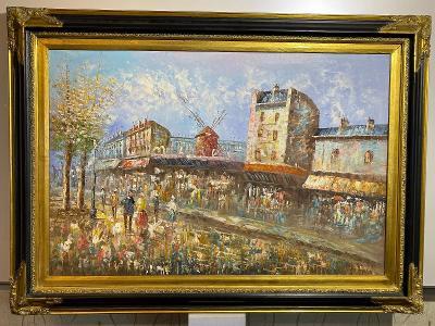 MOULIN ROUGE-PARIS-IMPRESIONISMUS 110 * 80cm
