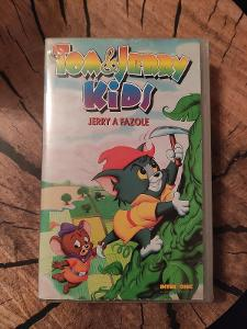Tom a Jerry Kids: Jerry a fazole, VHS