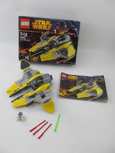 LEGO set Star Wars 75038 Jedi Interceptor navod, orig. krabice