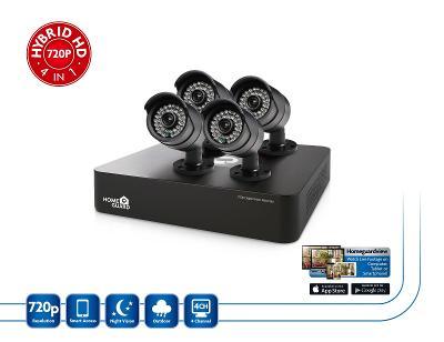 Nový kamerový set HOMEGUARD HGDVK46704 - kompletní set DVR a 4x kamera