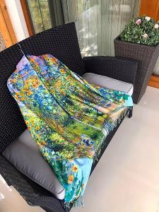 Velká nová šála/šátek na jaro/podzim (kašmir) Cashmere