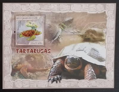 Mozambik 2007 Bl.220 10€ - Želvy, plazi a africká fauna