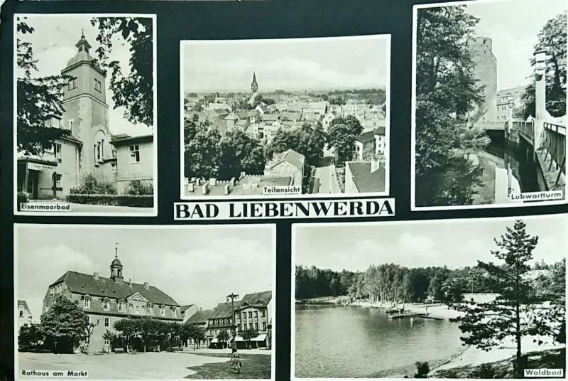 Německo Bad Liebenwerda  - Pohlednice