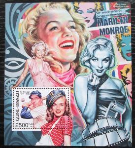 Guinea-Bissau 2012 Marilyn Monroe Mi# Block 1081 Kat 10€ 2217