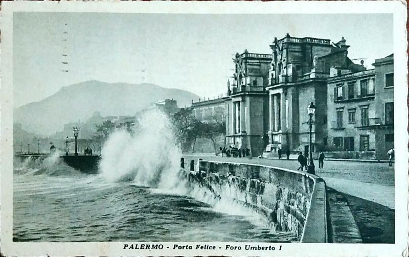 Itálie Palermo 1933 - Pohlednice