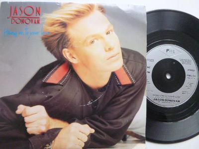 JASON DONOVAN Hang On To Your Love / You Can Depend On Me STOCK AITKEN