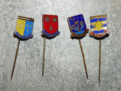 4x Slovensko=Starý Smokovec, Podbánské, Vyšné Hágy, Tatranská Lomnica-