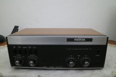 Vintage zesilovač REVOX A-78