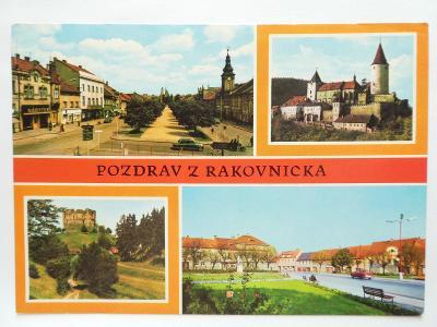 Rakovník - Křivoklát - hrad Krakovec - Nové Strašecí 1970