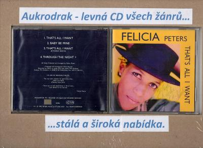 CDM/Felicia Peters-That´s All I Want