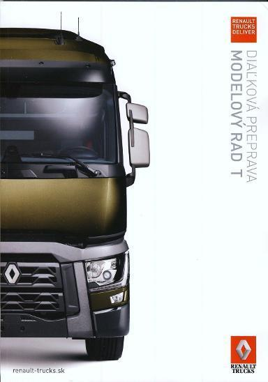 Renault Trucks Řada T prospekt 03 / 2014 SK