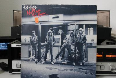 UFO No Place To Run LP 1980 vinyl Germany 1.press super stav EX