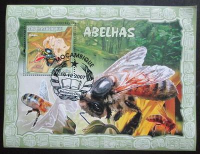 Mosambik 2007 Včely Mi# Block 215 Kat 10€ 2223