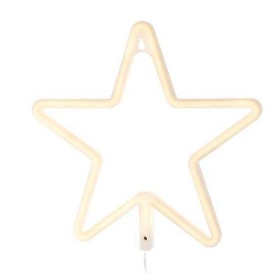 Vánoční Hvězda 100 LED do okna, 28 cm teplá bílá + dárek