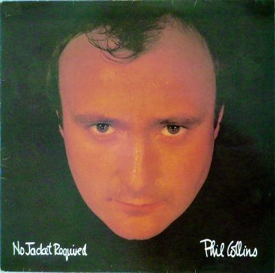 LP Phil Collins – No Jacket Required LP vypraná