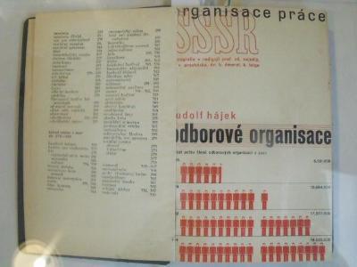 7 svazků Monografie SSSR-oddíl Organizace práce ( typo Karel Teige)