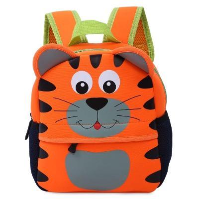 Dětský baťoh, batůžek 3D ve tvaru zvířátka - tygřík
