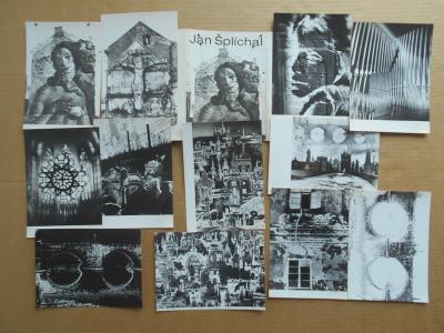 Umělecké foto JAN ŠPLÍCHAL  soubor 12 ks PRAHA  1963  r. 18x13 cm obal