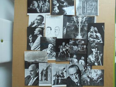 Umělecké fotoJaromír  Svoboda DIVALO 17 ks 1968  r. 18x13 cm obal