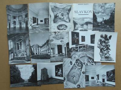 SLAVKOV - Umělecké foto  12 KS r. 18x13 cm obal