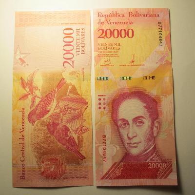Venezuela - 20000 - Veinte mil Bolívares 2017