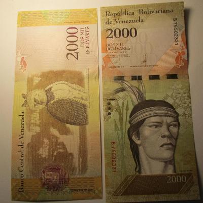 Venezuela - 2000 - Dos mil Bolívares 2016