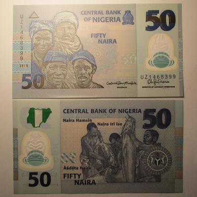 Nigeria - 50 Fifty Naira 2018