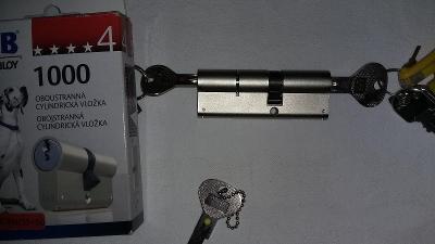 Bezpečnostní vložka FAB 1000, 35x50 + prostupová spojka