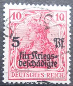 Německo 1919 Germania přetisk Mi# 105 Kat 5.50€ 2229
