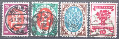 Německo 1919 Národní shromáždění ve Výmaru Mi# 107-10 Kat 9€ 2229