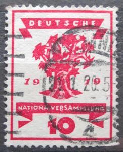 Německo 1919 Strom Mi# 107 2229