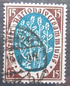 Německo 1919 Národní shromáždění Mi# 108 2229