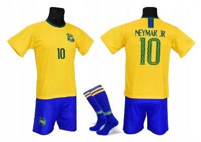 Fotbalový dres komplet Brazílie  NEYMAR JR