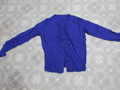 svetr fialový propínací