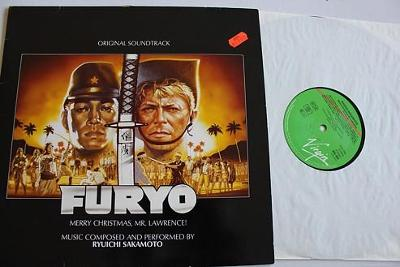Ryuichi Sakamoto Furyo LP 1983 vinyl Germany jako nove Bowie Oldfield