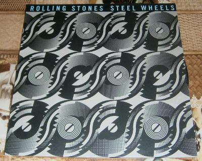 LP-The Rolling Stones- Steel Wheels (příloha) (Bonton 1990)/Perf.stav!