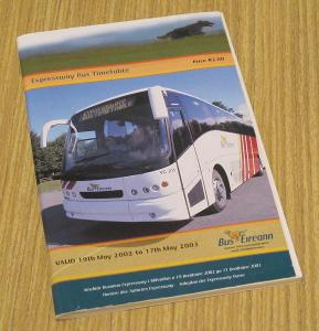 IRSKO - autobusový jízdní řád 2003