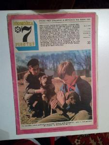 Časopis, Sedmička, č. 33/1973, zachovalý stav