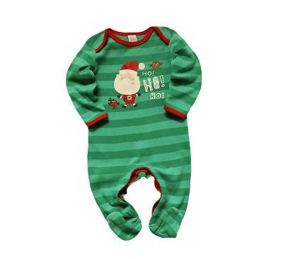 Vánoční overálek z bavlny Miniclub 6-9m