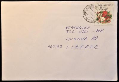 ČR - dopisní obálka - pošta Jablonec nad Nisou