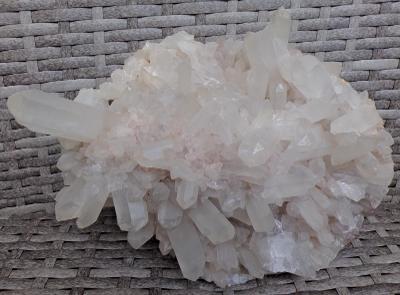 Křišťál XXL Přírodní krystaly - Drůza 2990 g Čirý křemen TOP A+++
