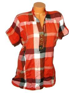 Károvaná dámská košile, vel. 42/44