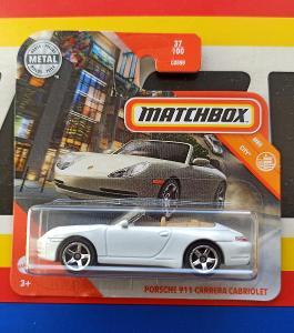 Porsche 911 Carrera Cabriolet MB 37/100 Matchbox