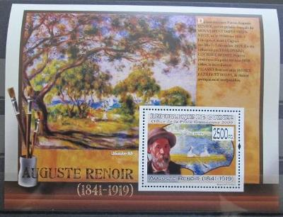 Guinea 2009 Umění, Auguste Renoir Kat 10€ 0173
