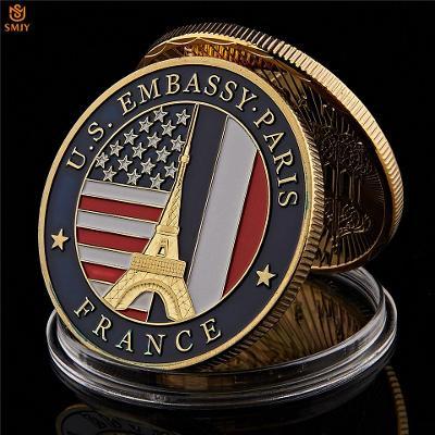 Pamětní mince - Embassy Paris