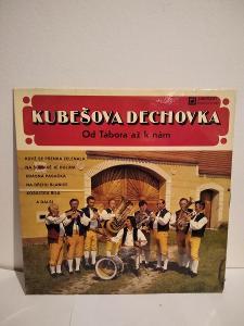 LP Kubešova dechovka, Od Tábora až k nám, 1982 PĚKNÝ STAV